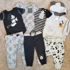 Disney Baby Mickey Mouse Lot 6-9m